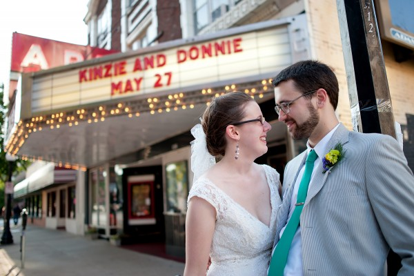 Movie Theater Themed Wedding Receptions In Philadelphia