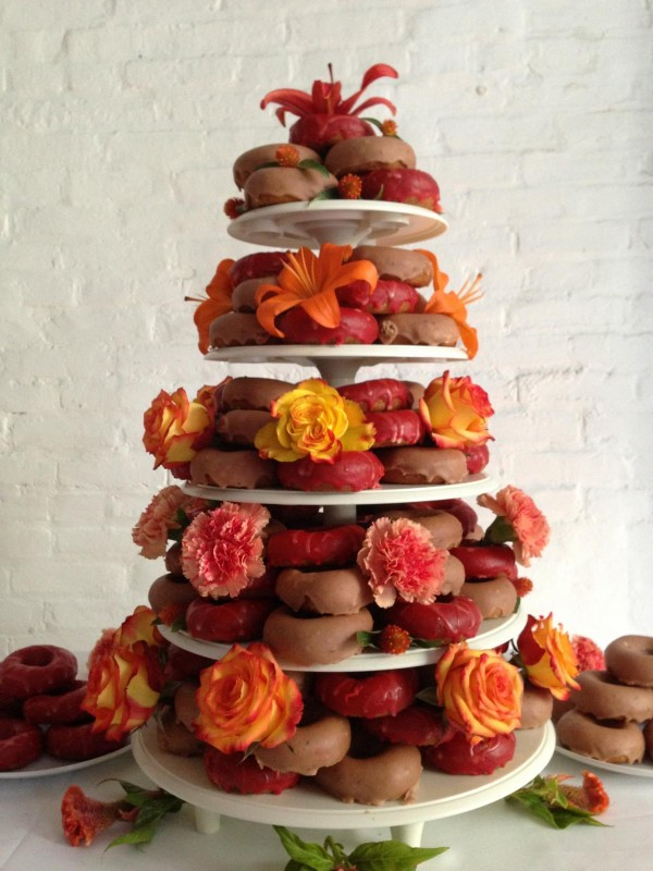 The beauty of the wedding donut trend partyspace i think donuts have become a new trend at weddings just because they are a fun alternative to a traditional cake and our donuts are delicious junglespirit Gallery