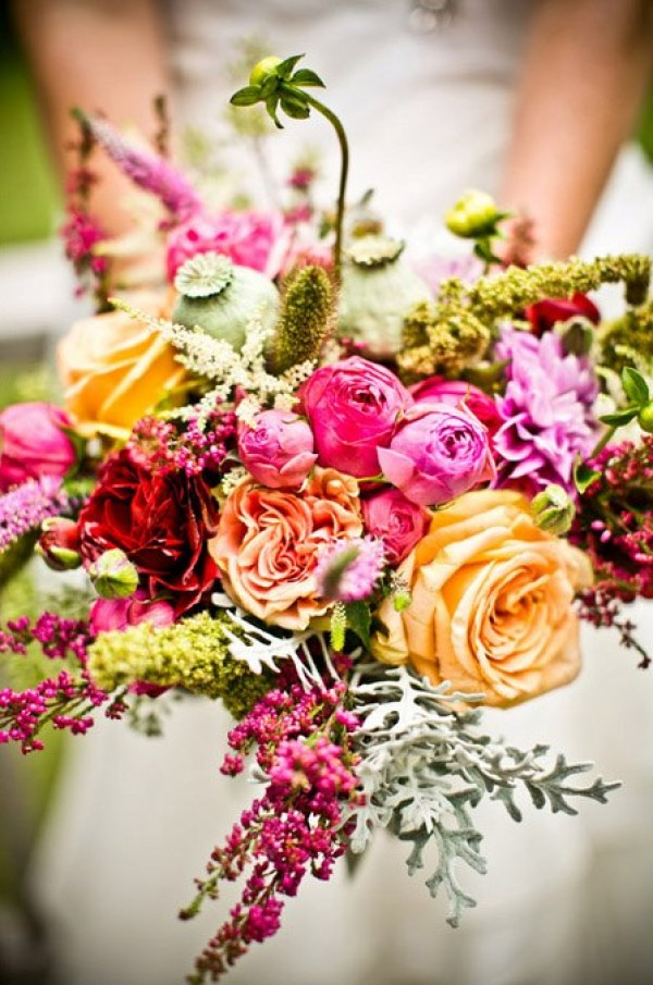 Florals For Your Rustic Wedding
