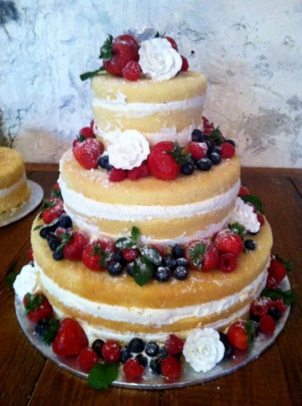 Revealing Details About Naked Wedding Cakes