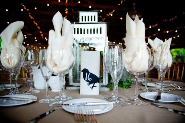 How To Create A Bird Themed Wedding Reception In Philadelphia