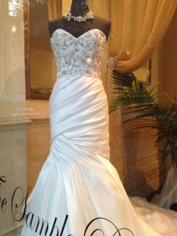 How Do I Make Sure A Sample Gown Will Fit Me? | Partyspace