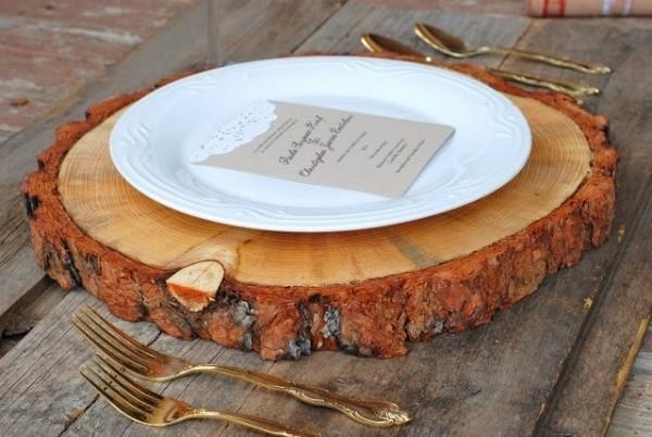 Tree Slab Ideas For Your Rustic Philadelphia Wedding