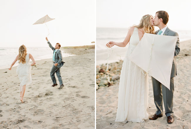 Photo Props For A Jersey Shore Beach Wedding