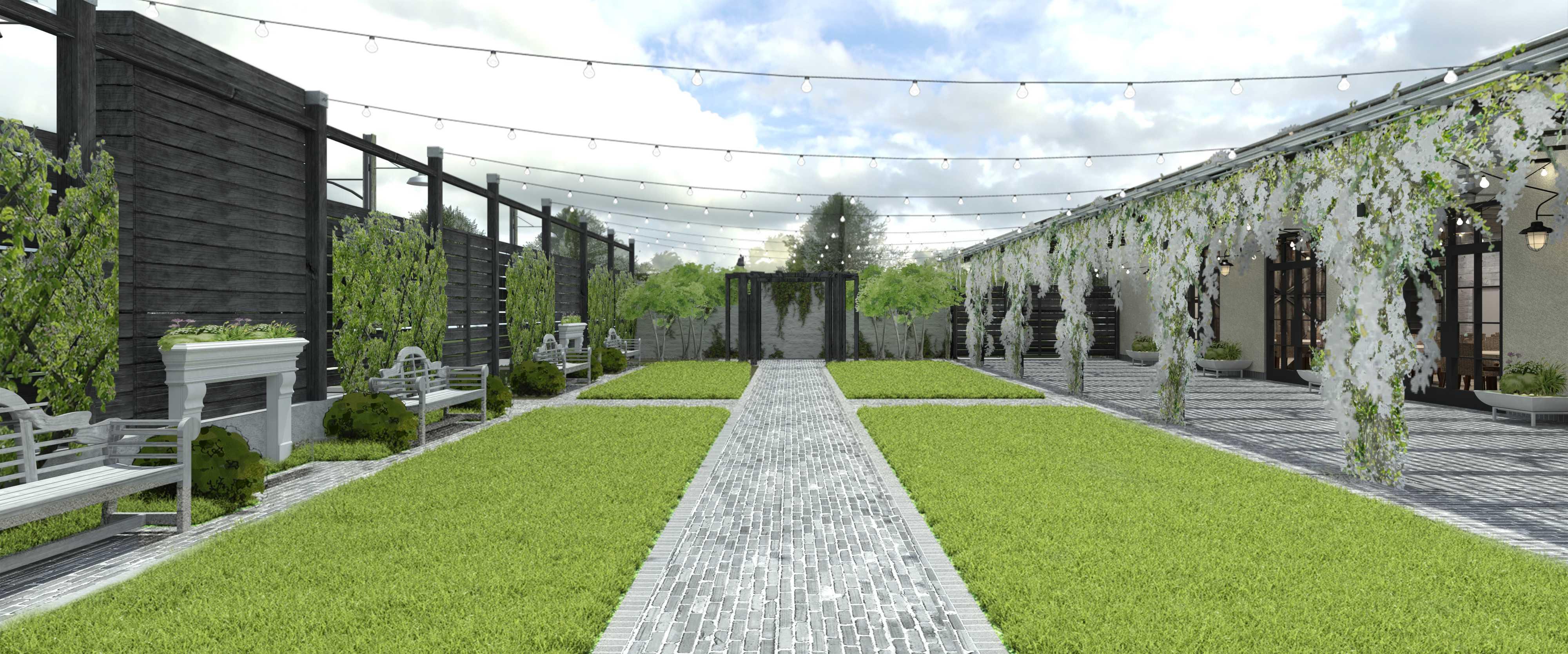 Terrain Gardens At Devon Yard Wedding Venue In Philadelphia Partyspace