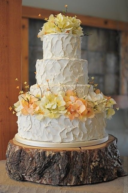 wedding cake stands rustic stand up and make a statement with rustic wedding cake 25662