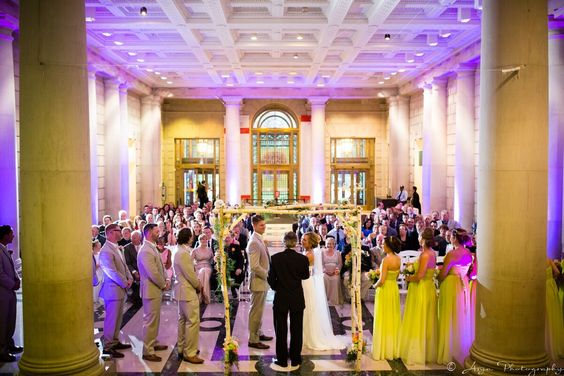 The Free Library Of Philadelphia Wedding Venue In