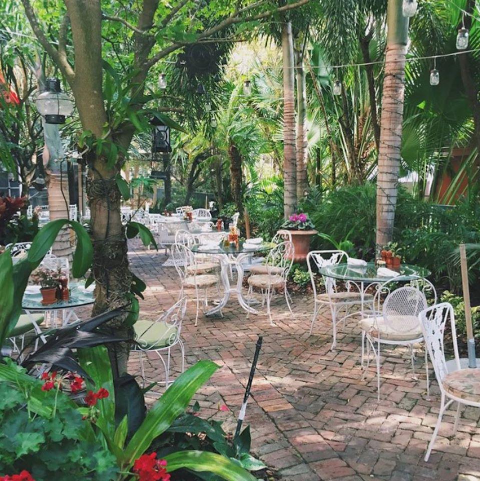 Peacock Garden Caf 233 Wedding Venue In South Florida