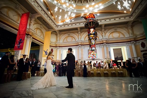 Please Touch Museum Memorial Hall Wedding Venue In