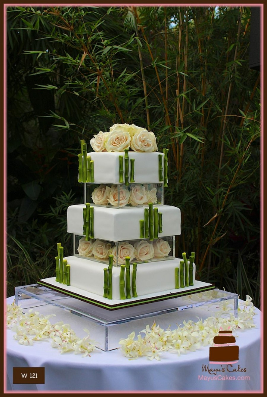 Moist Wedding Cake South Florida
