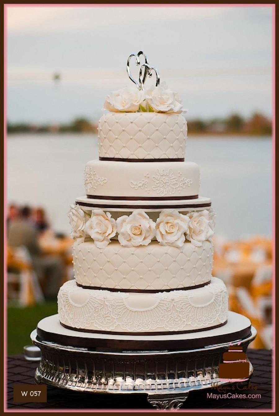 Moist Wedding Cake South Florida
