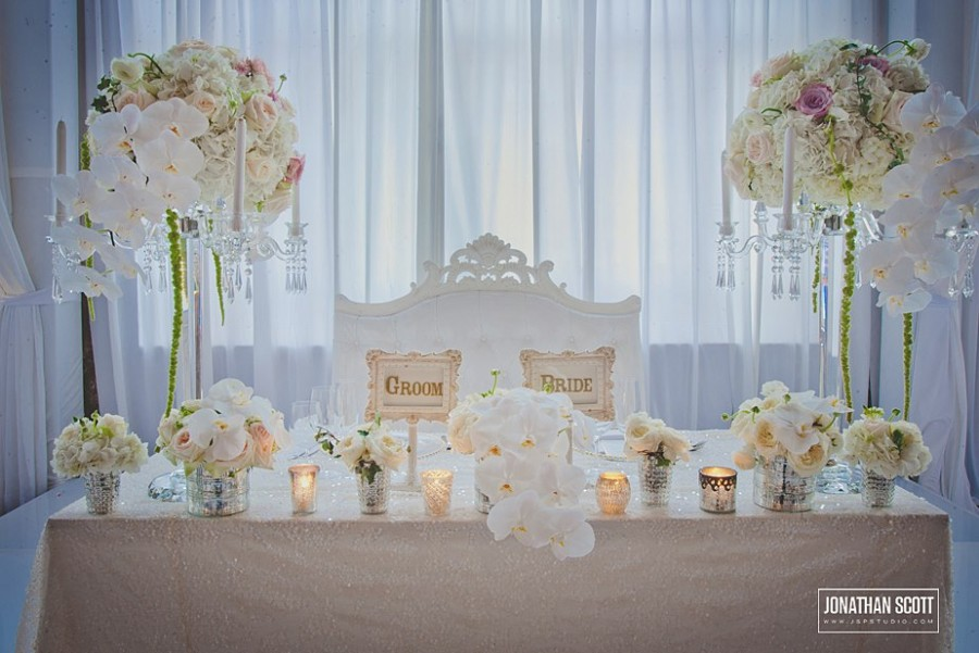 Scintillating Bride And Groom Table Setting Gallery Best