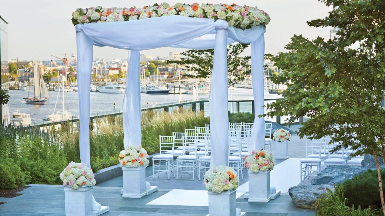 Four Seasons Air Conditioning >> Four Seasons Hotel Baltimore Wedding Venue in Baltimore ...
