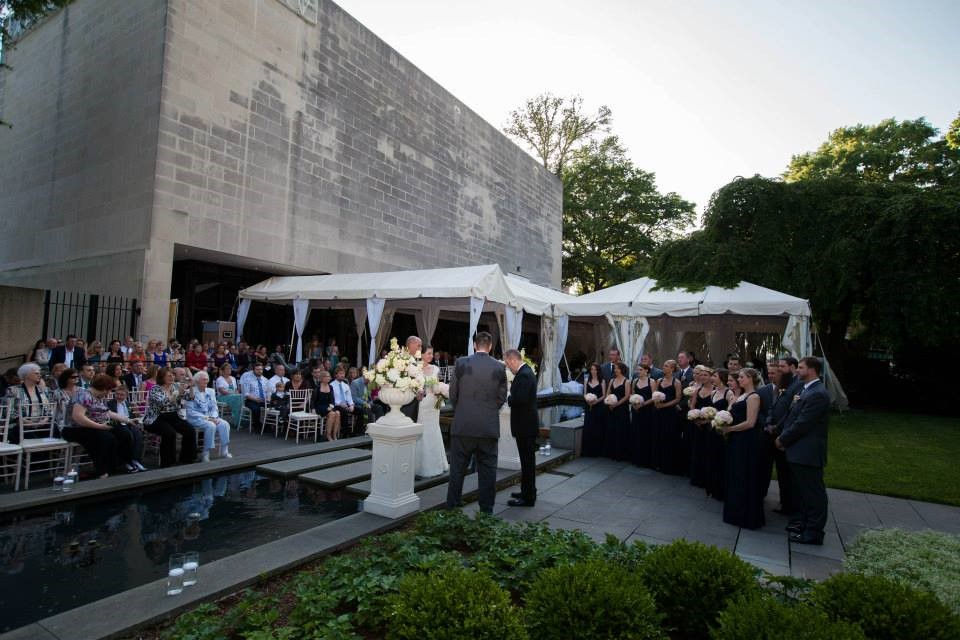Gertrudes At The Baltimore Museum Of Art Wedding Venue In