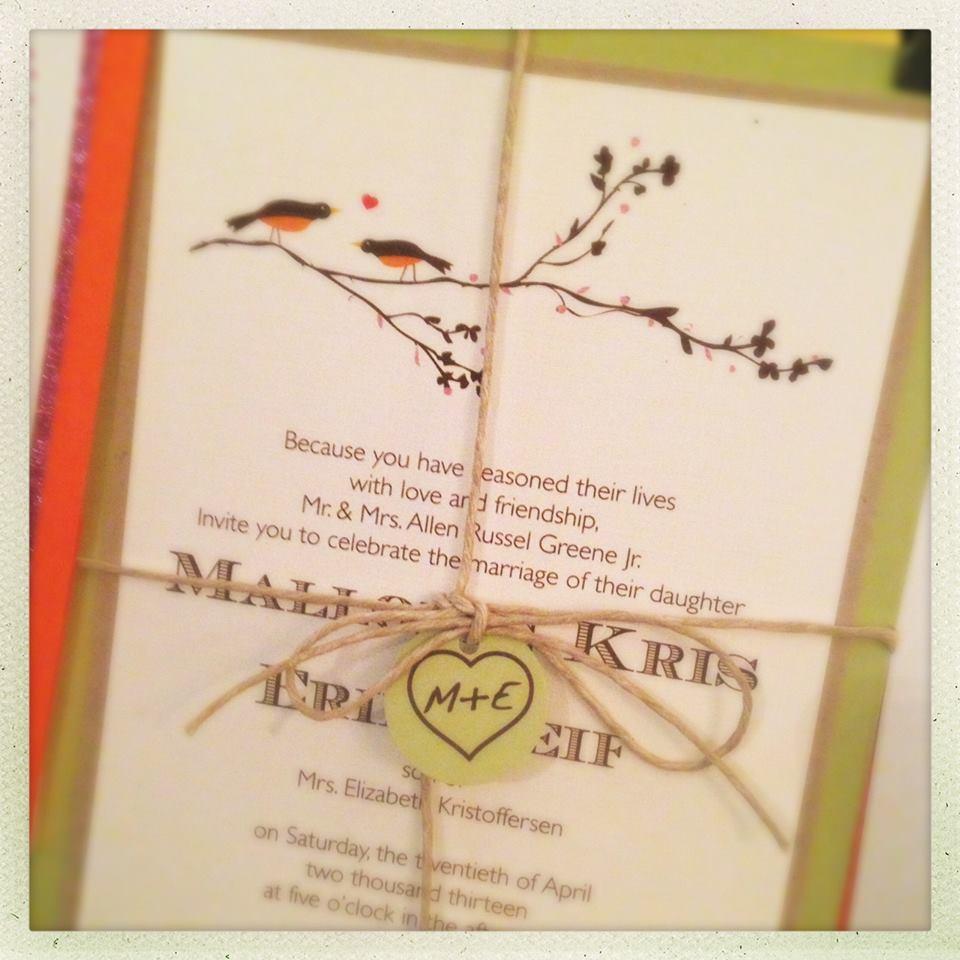 Wedding Invitations In Maryland: Kindly RSVP Designs Wedding Vendor In Baltimore