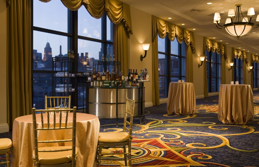Baltimore Marriott Waterfront Wedding Venue In Baltimore