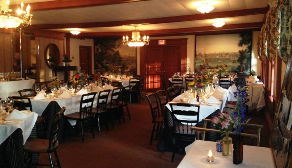 The robert morris inn partyspace for Best private dining rooms in baltimore