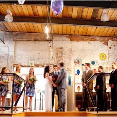 Baltimore wedding venues and vendors partyspace corradetti glassblowing studio gallery preview junglespirit Images