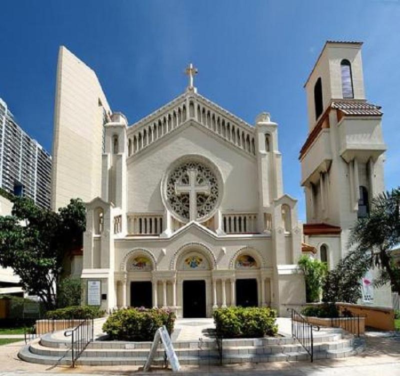 Trinity Cathedral Miami Wedding Venue In South Florida